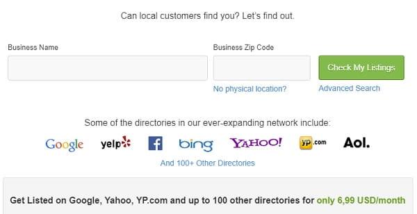 Webs Listings