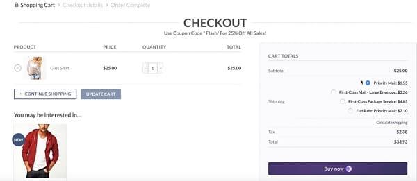 WooCommerce - Storefront