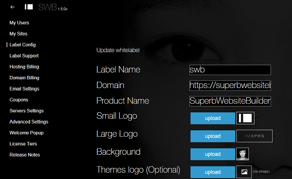 IM Creator White Label Dashboard
