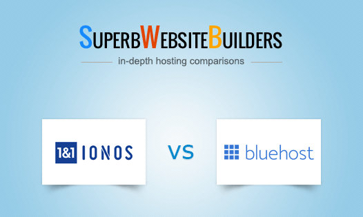 1&1 ionos vs bluehost