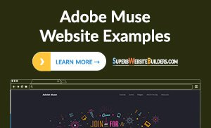 Adobe Muse Website Examples