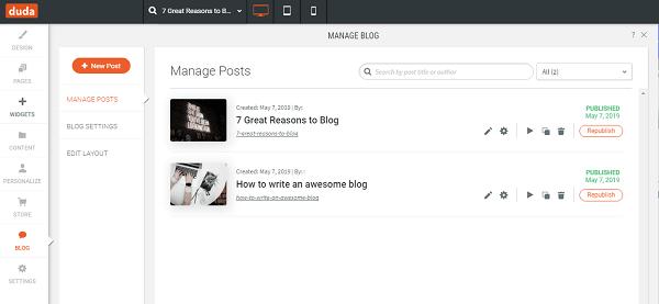 Duda Blog
