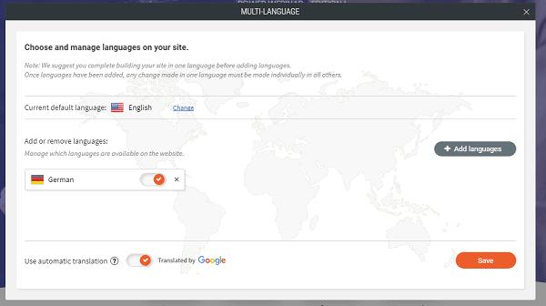 Duda Multilanguage Support