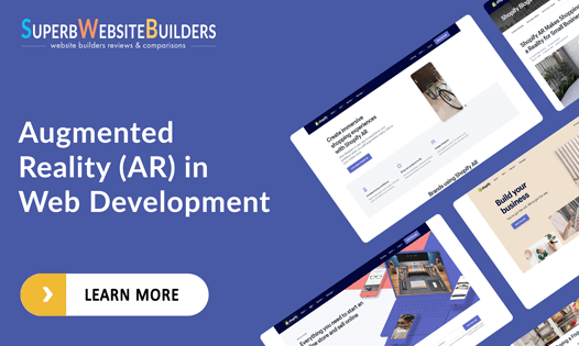 augmented reality in web development