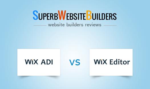 Wix ADI vs Wix Editor