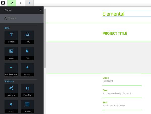 Concrete5 Editor