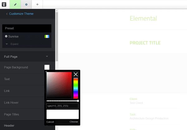 Concrete5 Theme Editor