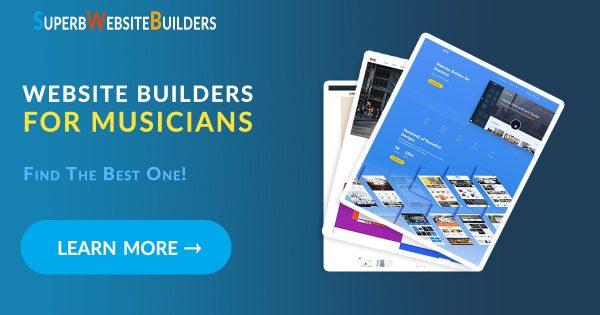Website Builders for Musicians
