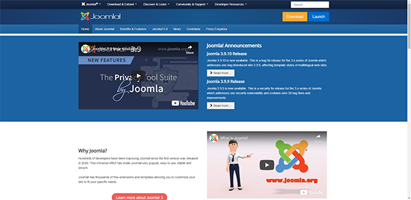 Joomla - One of the Most Used Website Softwares