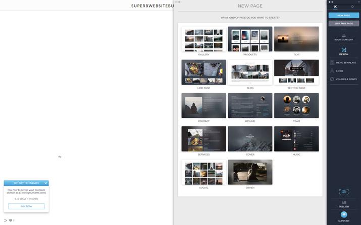portfoliobox templates