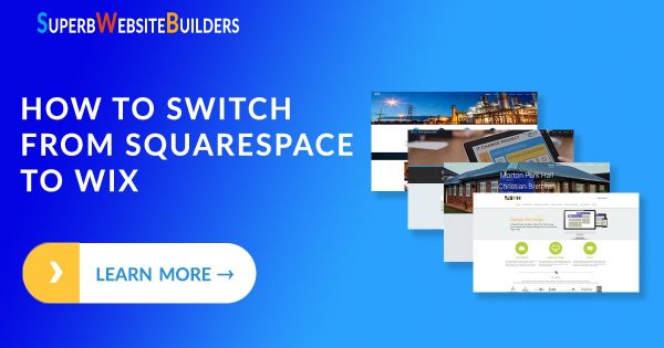 Switching from Squarespace to Wix