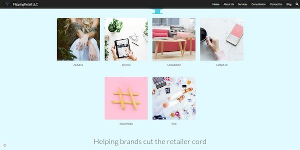 Flipping Retail – consultation and branding firm