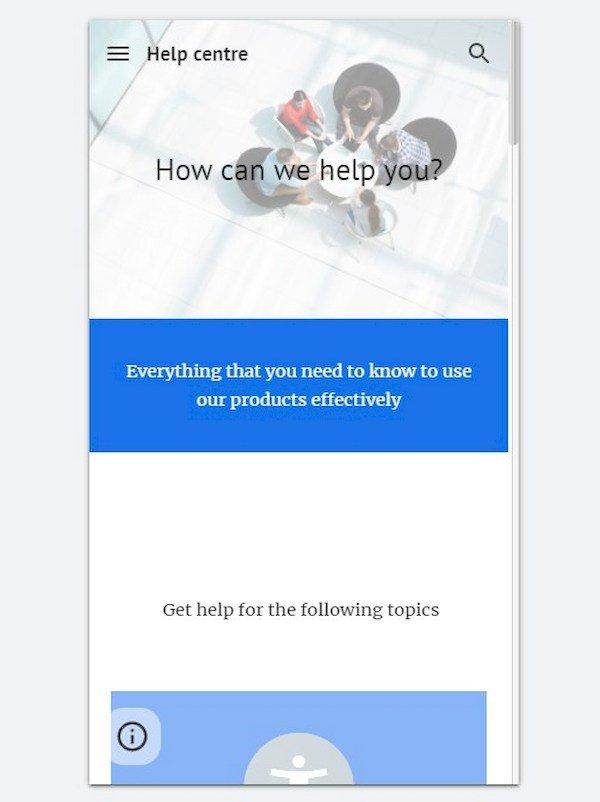 Google Sites Mobile