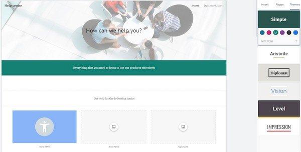 Google Sites Themes