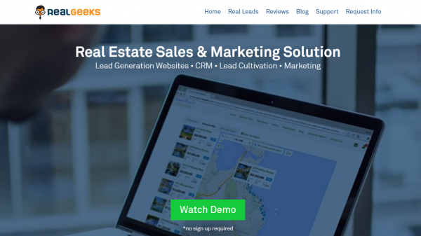 RealGeeks – Real Estate Sales & Marketing Solution