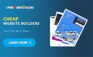 Cheap Website Builders