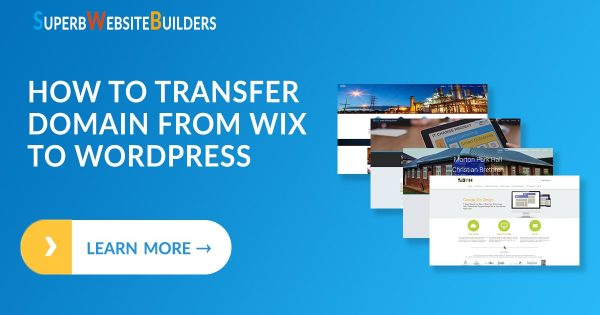 How to Transfer Domain from Wix to WordPress