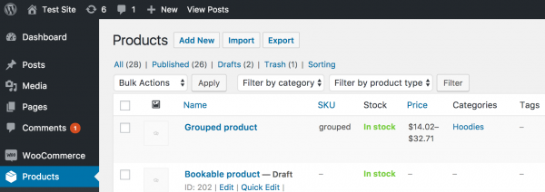 Upload Products from the CSV file with one upload only