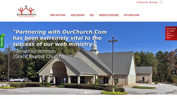 OurChurch - Christian Church Website Builder
