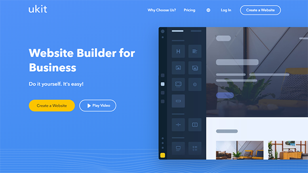 uKit - Cheapest Small Business Website Builder