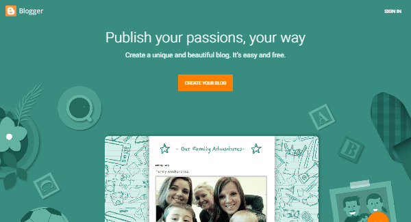 Blogger.com – The Best Online Blogging Platform