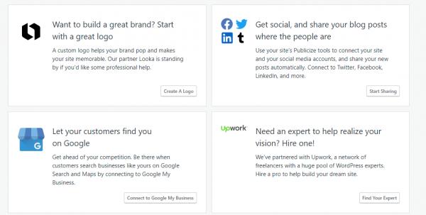 WordPress.com Marketing Tools