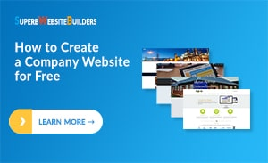 How to Create a Company Website for Free