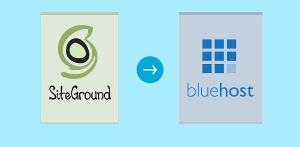 Siteground to Bluehost
