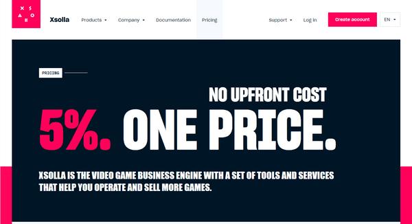 Xsolla pricing