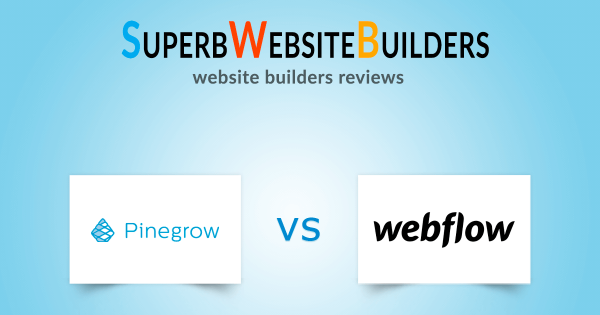 Pinegrow vs Webflow: Which is Better?