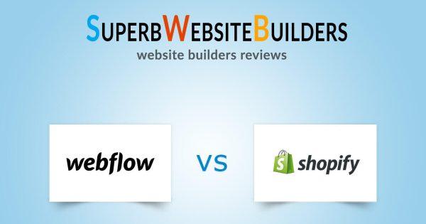 Webflow vs Shopify