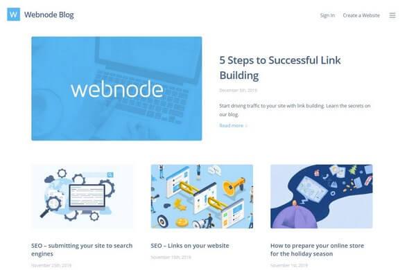Webnode FAQ