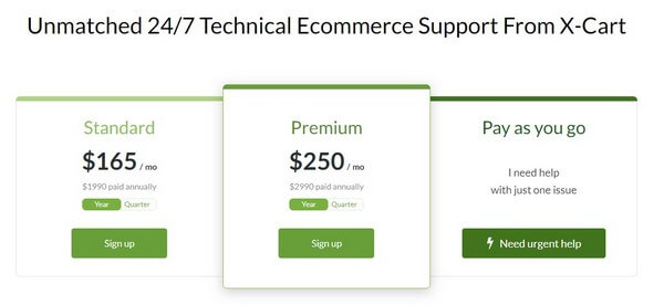 X-Cart eCommerce Support