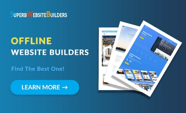 Best Offline Website Builder Software Free Downloadable Tools For Windows And Mac