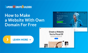 How to Make a Website With Your Own Domain For Free