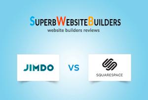 Jimdo vs Squarespace