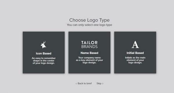 Tailor Brands Create Logo