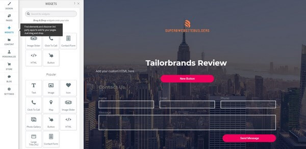 Tailor Brands Design