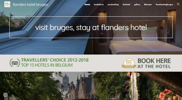 10. Flanders Hotel Bruges
