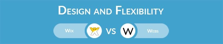 Wix vs Webs: Design and Flexibility