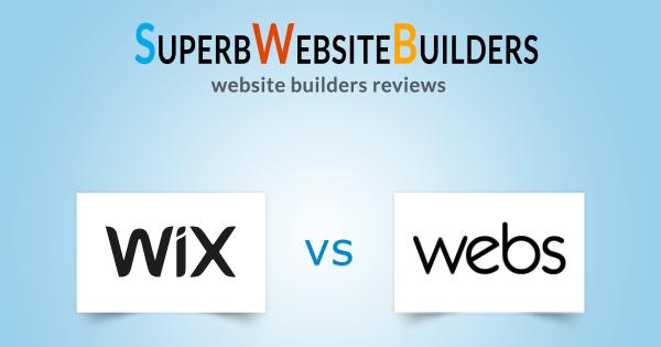 Wix vs Webs
