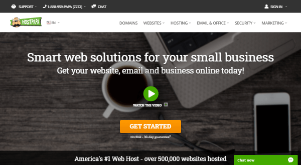 Hostpapa - America's #1 WordPress Hosting Company