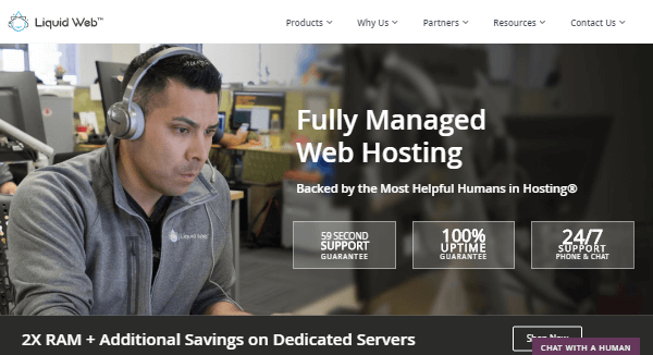 Liquid Web – Fully-Managed Hosting for Business of Any Size