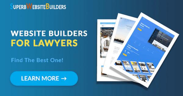 Best Website Builders for Lawyers