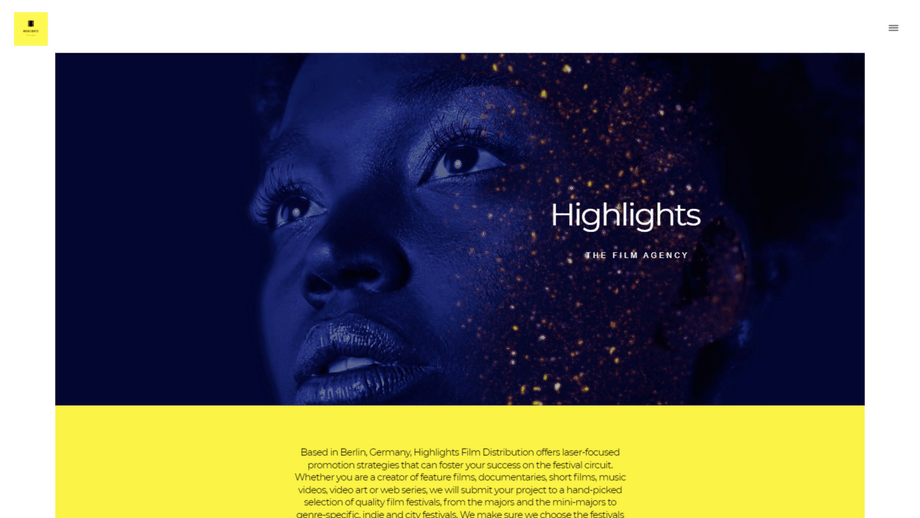 The Film Agency website