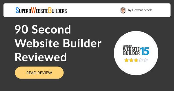 90SecondWebsiteBuilder.com Review