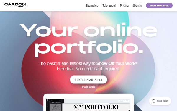 Carbonmade - Perfect Online Portfolios for Photographers