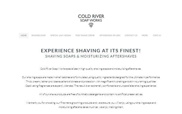 Cold River Soap Works Blog