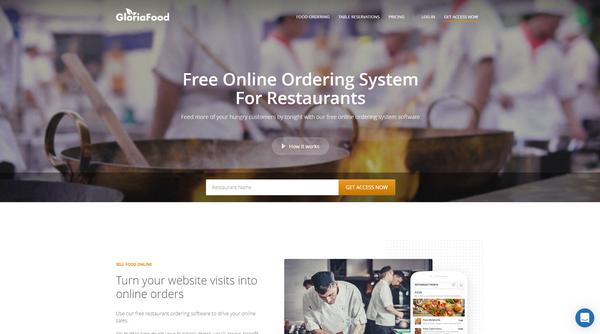 Gloriafood - Restaurant Online Ordering Software