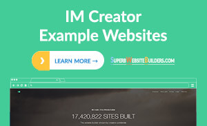 IM Creator Website Examples